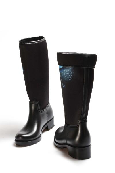Siyah Rain Kadın Serisonu Çizme 933SZACN2