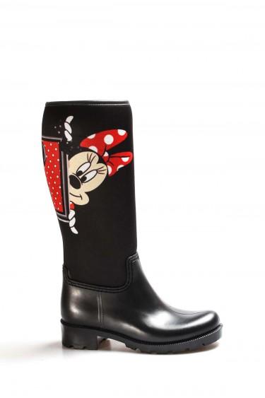 Siyah Miki Kadın Yağmur Çizme 933SZACN2