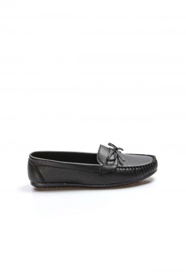 Siyah Kadın Babet Ayakkabı 933ZA100
