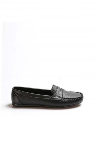 Siyah Kadın Babet Ayakkabı 933ZA101