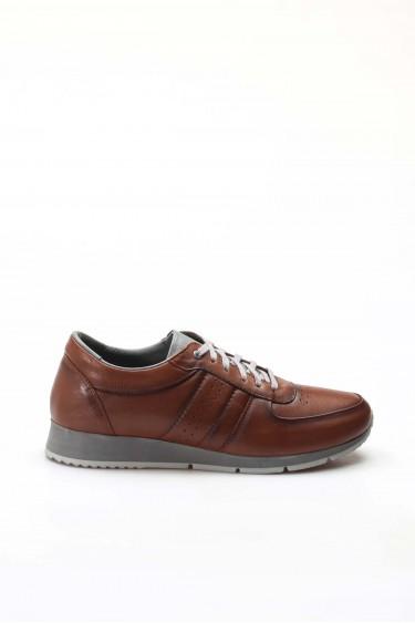 Hakiki Deri Taba Erkek Günlük Spor Ayakkabı 951MA555