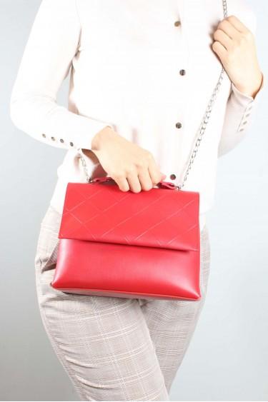 Kırmızı Kadın El Çanta 953CA822