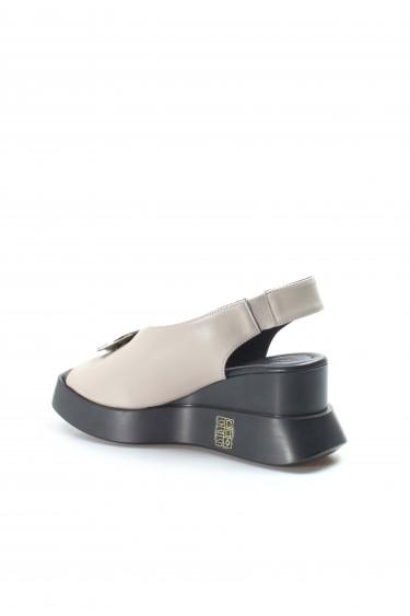 Hakiki Deri 1173 Vizon Kadın SPOR SANDALET Sandalet 965ZA2638