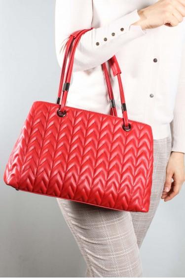 Kırmızı Kadın El Çanta 977CA5097