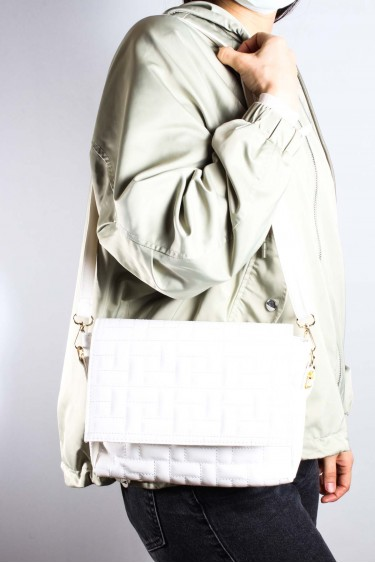 Beyaz Kadın El Çanta 980CA402
