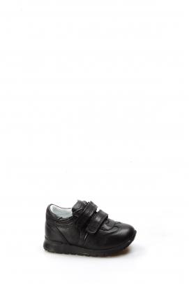 Hakiki Deri Siyah Bebek Casual Ayakkabı 006BA900