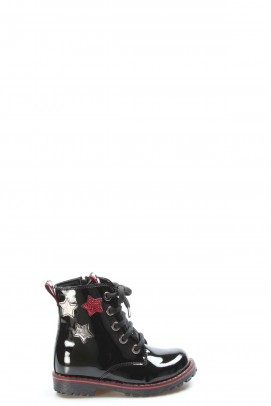 Siyah Rugan Kız Çocuk Klasik Bot 006SPA1004