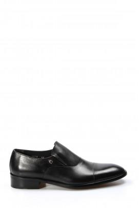 Hakiki Deri Siyah Erkek Klasik Ayakkabı 278MA8078LZR