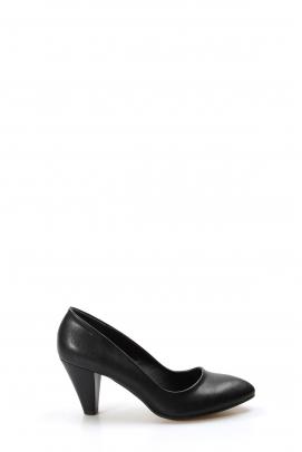 Siyah Kadın Yüksek Topuk Ayakkabı 629ZARMN-501