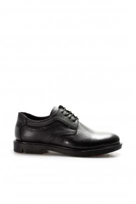 Hakiki Deri Siyah Erkek Klasik Ayakkabı 783MA29