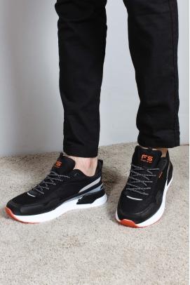 Siyah Füme Oranj Erkek Sneaker Ayakkabı 865MA5036