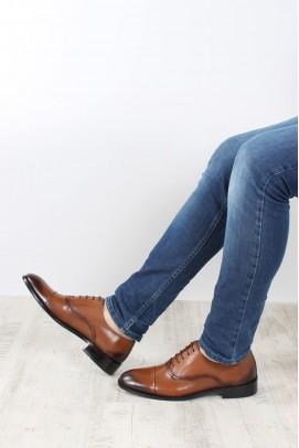 Hakiki Deri Taba Erkek Klasik Ayakkabı 867MA075JUR