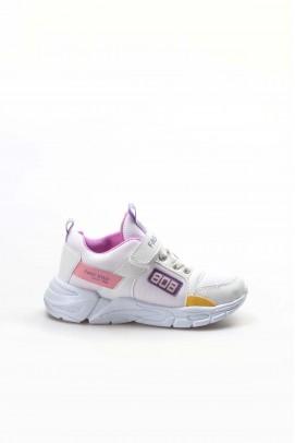 Beyaz Lılaa Unisex Çocuk Sneaker Ayakkabı 868XCA808