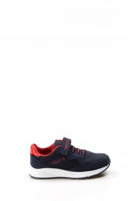 Lacivert Kırmızı Unisex Çocuk Sneaker Ayakkabı 877FA105P
