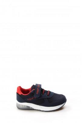 Lacivert Kırmızı Unisex Çocuk Sneaker Ayakkabı 877PA105P