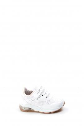 Beyaz Bebek Sneaker Ayakkabı 877BA105P