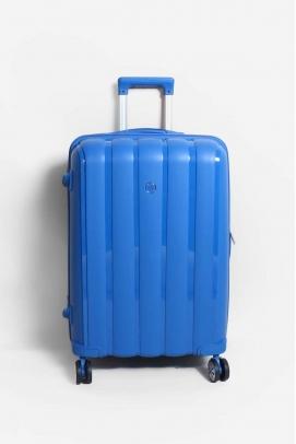 Saks Mavi Unisex Orta Boy Bavul 897CABAVULO
