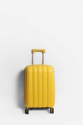Sarı Unisex Küçük Boy Bavul 897CABAVULU
