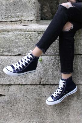 Lacivert Kadın Sneaker Ayakkabı 919ZA1000