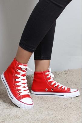 Kırmızı Kadın Sneaker Ayakkabı 919ZA1000