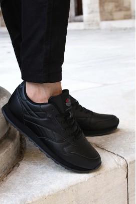 Siyah Unisex Yürüyüş Ayakkabı 923XA063BST