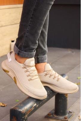 Bej Unisex Sneaker Ayakkabı 925XA44