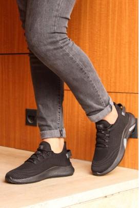 Siyah Unisex Sneaker Ayakkabı 925XA44