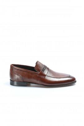 Hakiki Deri Kösele Taba Erkek Klasik Ayakkabı 932MA301