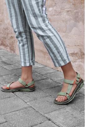 Ortopedik Haki Kadın Klasik Sandalet 981ZA9999