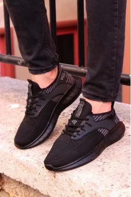 Siyah Füme Erkek Sneaker Ayakkabı 985MA017V